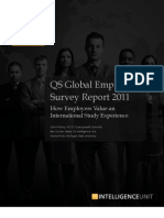 QS Global Employer Survey 2011