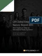 QS Global Employer Survey 2011