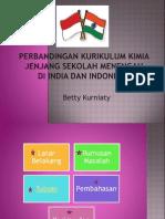 Perbandingan Kimia India Dan Indonesia