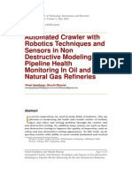 Automated Crawler with Robotics Techniques and Sensors in Non Destructive 