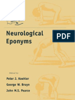Neurological Eponyms