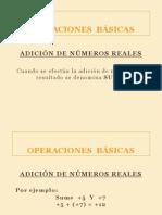 2.- OPERACIONES BÁSICAS