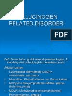 Copy of Hallucinogen Related Disorder