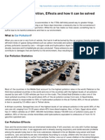 Carpollution.org-Car Pollution Definition Effects and How It Can Be Solved