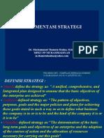 MATERI MANSTRA Implementasi Strategi 40812