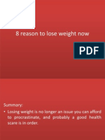 8 reason to lose weight now.pptx