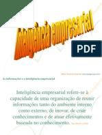 iNTELIGÊNCIA EMPRESARIAL AULA 23-10-09