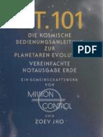 Zoev Jho - E.T. 101 - Die kosmische Bedienungsanleitung zur planetaren Evolution