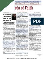 Seeds of Faith May 2013