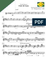 Debussy Claude Clair Lune Baritono Sax 46245