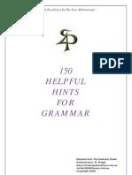 $ Grammar 150 Helpful Hints