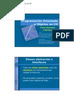04.- Clases Abstractas e Interfaces