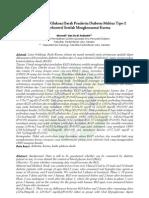 Perubahan Kadar Glukosa Darah Penderita Diabetes Melitus Tipe-2