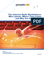 The Internet Radio Marketplace