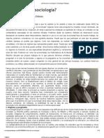 Bottomore_El final de la sociología