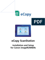 eCopy ScanStation Setup
