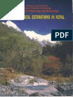 Hydrologic Estimationd in Nepal by KP Sharma & NR Adhikari