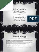 Victor Horta's power point