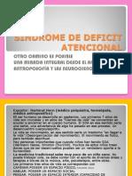 Sindrome de Deficit Atencional