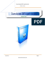 Cours Access 2007
