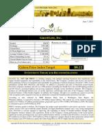 Grassroots Reseach - GrowLIfe, Inc Report