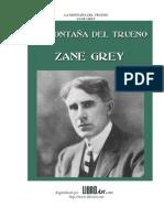 Zane Grey - La montaña del trueno