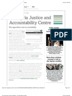 The Opposition and Accountability - The SJAC Weekly Update