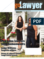 August 2012 Chicago Lawyer magazine