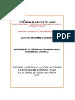 CUENTO Y POESÍA FILOSÓFICA DEL AMOR