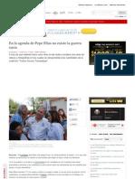 11-06-2013 En la agenda de Pepe Elías no existe la guerra sucia
