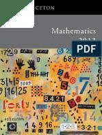 Mathematics 2013 Catalog