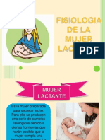Fisiologia de La Mujer Lactante
