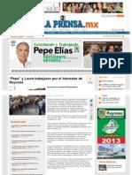"""11-06-2013 """"Pepe"""" y Laura trabajaran por el bienestar de Reynosa"""