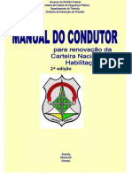 MANUAL DO CONDUTOR PARA RENOVAÇÃO DE CNH - DETRAN