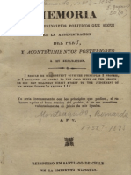 Monteagudo, Bernardo (1823) Memoria Sobre Los Principios Politicos [...]