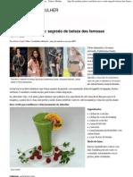 Dieta Do Suco Verde_ Segredo de Beleza Das Famosas