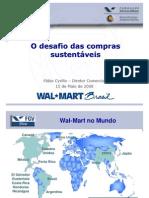 O desafio das compras sustentáveis - Slide Apresentação