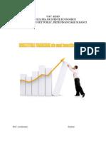 INVESTITIILE FINANCIARE Ale Unui Investitor La Bursa