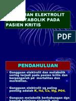GANGGUAN ELEKTROLIT DAN METABOLIK PADA PASIEN KRITIS A.ppt