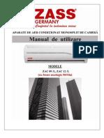 ZAC09L 12L Manual Utilizare