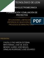 aplicaciones, limitaciones de la manufactura.pptx