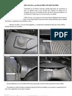 Sustitución del filtro de Aire a un Passat 3BG