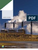 Coal - The Greatest Threat to Civilization — James Hansen