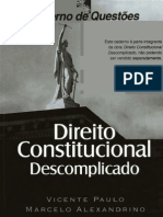 Direito Constitucional Descomplicado Caderno de Questoes 1reduced