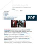 Godrej HomeAppliance Case Study