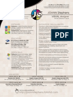 Joann Stephens Design Resume