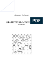 Statistical Mechanics - Gallavotti