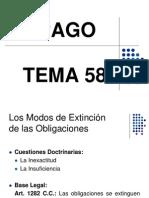 TEMA 58. EL PAGO.ppt