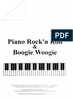 Rockn Roll And Boogie Woogie Piano Piano Partitura