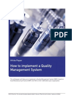 Pharmout How to Implement a QMS